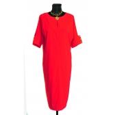 Платье «Бенгалин» (цвет красный)