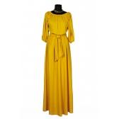 Платье «Крестьянка» (цвет желтый)