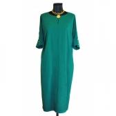 Платье «Бенгалин» (цвет зеленый)