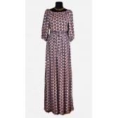 Платье «Крестьянка» (цветная фантазия)