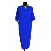 Платье «Бенгалин» (цвет синий)