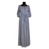 Платье «Крестьянка» (цвет синий лазурит)