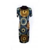 Платье «Жемчуг» (кофейный цветной)